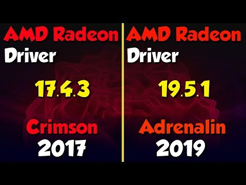 AMD Radeon Old vs New Driver. a huge improvement?