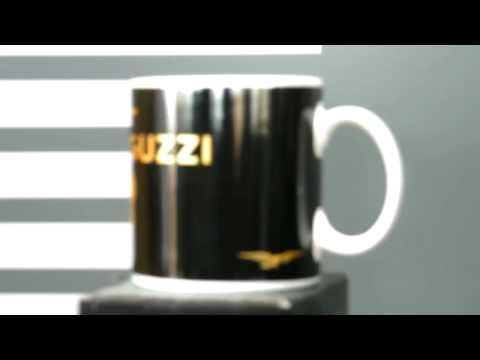 Moto Guzzi Keramik Tasse schwarz  Zubehör neu