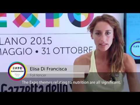 Ambassador Expo Milano 2015 Elisa Di Francisca eng