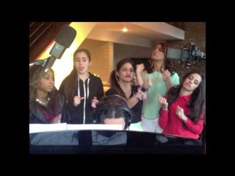 Tekst piosenki Fifth Harmony - Thinkin' About You (cover) po polsku