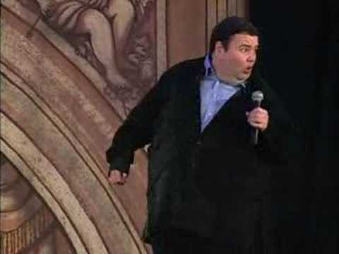 John Pinette - I dont do ups [Full Version]
