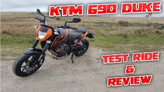 8. #157 KTM 690 Duke 2017 Detailed Test Ride & Review!