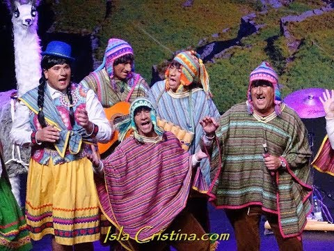 "Murga ""Llegué del Perú con mi familia por Seur"" Final Carnaval de Isla Cristina"