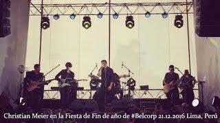 Christian Meier en la Fiesta de Fin de año de #Belcorp 21.12.2016
