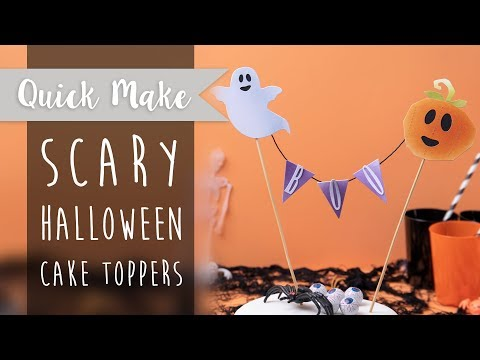 Halloween Cake Toppers - Sizzx