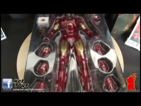 HOT TOYS IRON MAN MARK IV -TONY STARK (IRON MAN 2) REF. MMS123 VIDEO REVIEW EN ESPAÑOL
