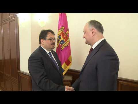 Președintele țării a avut o întrevedere cu șeful Delegaţiei Uniunii Europene în Republica Moldova
