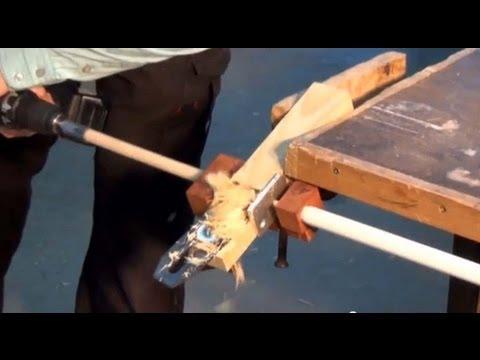 Как сделать круглую палку из дерева