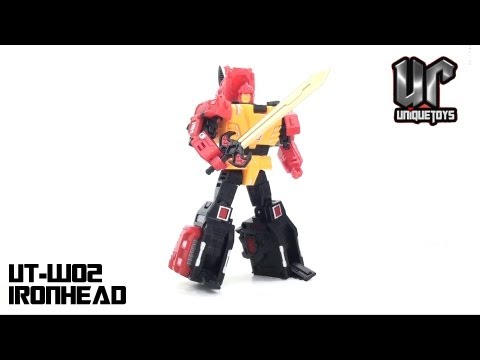 Video Review of the Unique Toys: UT-W02 Ironhead (aka Headstrong)