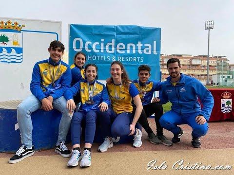 Resumen del sábado: Campeonato de Andalucía de Lanzamientos largos celebrado en Isla Cristina