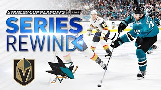 SERIES REWIND: Sharks down Golden Knights in seven-game classic by NHL
