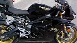 9. 2008 Triumph 675 Daytona starting & revving limited edition