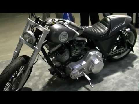 Darwin Motorcycles Brawler GT3 Motorcycle