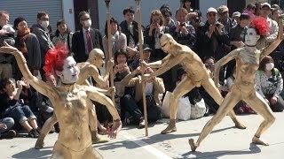 【東京】大駱駝艦のびっくりパフォーマンス