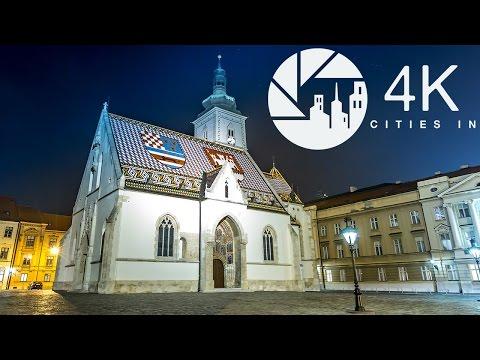 A 4K Tour of Zagreb