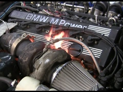 BMW E32 S38B36 TURBO Teaser