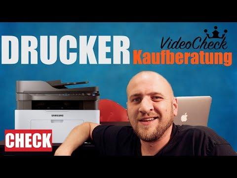 🔴Multifunktions Laser DRUCKER TEST DEUTSCH 2019  WLAN Scanner Kopierer Fax NFC