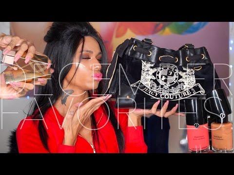 DECEMBER FAVORITES 2016! | ARMANI FLUID SHEERS & LIP MAGNETS + MAC LIPTENSETY + JUICY COUTURE