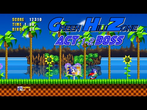 Sonic The Hedgehod-Gameplay :D