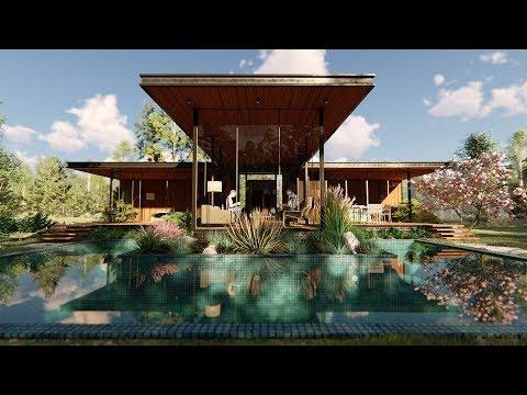 LUMION 8 Pro Render Modern House#7