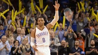 Russell Westbrook Ties The Big O's Triple Double Record! 41 In Season!