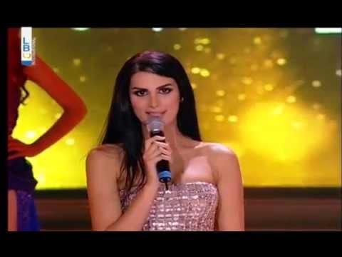 Miss Lebanon 2014 - Rouba Mounzer (видео)
