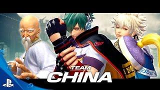 "DESDE ASIA NOS LLEGA EL TEAM ""CHINA"" EN THE KING OF FIGHTERS XIV"