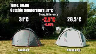 Кемпинговая четырехместная палатка High Peak  Ancona 4