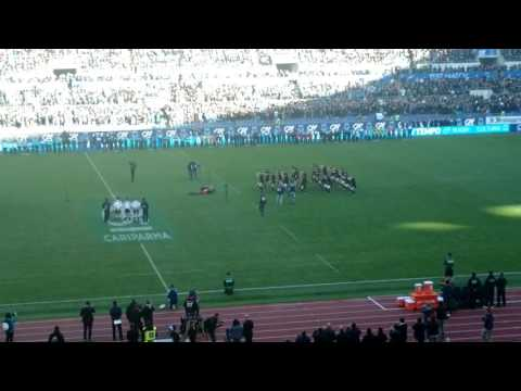 Italia-Nuova Zelanda, l'haka degli All Blacks