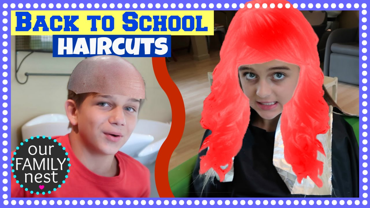 BACK TO SCHOOL HAIRCUTS & THE GOLF CART RETURNS!