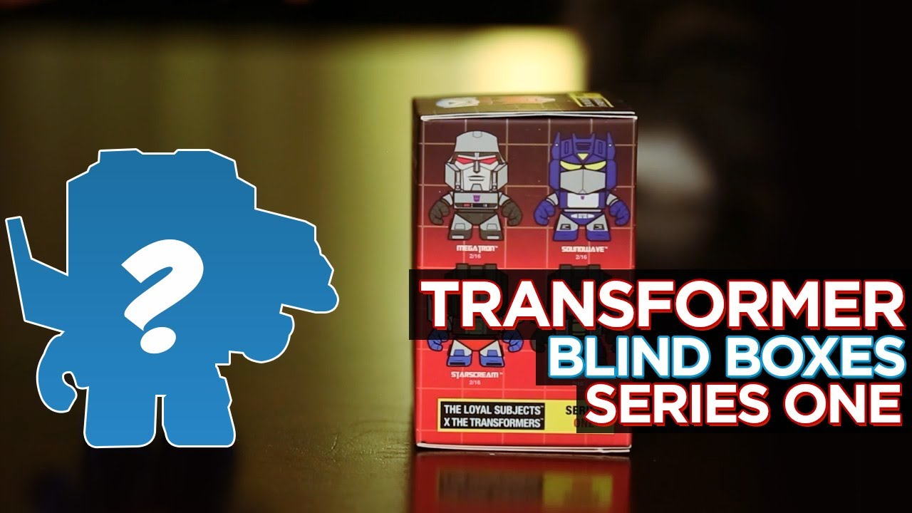 Transformers Series One Blind Boxes!