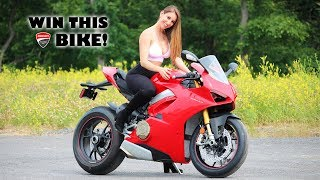 1. Buying a Brand New 2018 Panigale V4S!!!