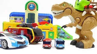 Video Go Go Athlon, Dinosaurs in Tayo The Little Bus School ~! про машинки Поли Игрушки MP3, 3GP, MP4, WEBM, AVI, FLV Oktober 2018