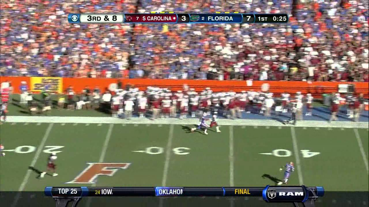 Sharrif Floyd vs South Carolina (2012)