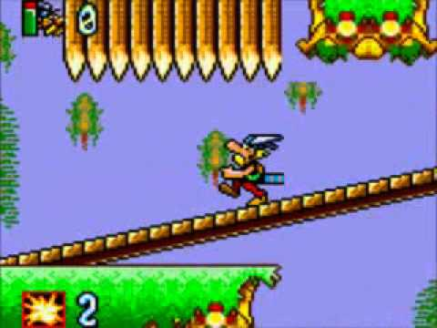Ast�rix and the Great Rescue Game Gear