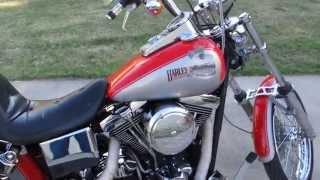 7. 1996 Harley-Davidson Wide Glide,