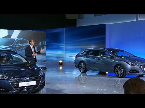 Hyundai i40 facelift lunching show 2015