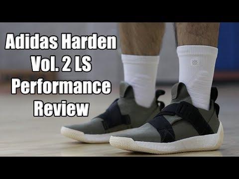 Adidas Harden Vol 2 LS Performance Review видео
