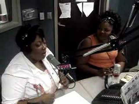 Comedian Mo'Nique on the Frank Ski & Wanda Morning Show