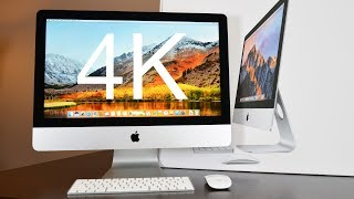 """The 2017 Apple iMac 21.5"""" with 4K Retina Display has been updated with Kaby Lake CPUs, Radeon Pro GPUs, DDR4 RAM, Faster SSDs, Better displays, Thunderbolt 3 and more.   iMac: https://www.apple.com/imac/Apple Magic Accessories: https://goo.gl/tKuii4Thanks for Watching!▶Subscribe: http://goo.gl/UEhJs▶Facebook: http://www.facebook.com/DetroitBORG▶Twitter: http://www.twitter.com/DetroitBORG▶Snapchat: https://www.snapchat.com/add/thedetroitborg▶Instagram: http://www.instagram.com/DetroitBORG"""