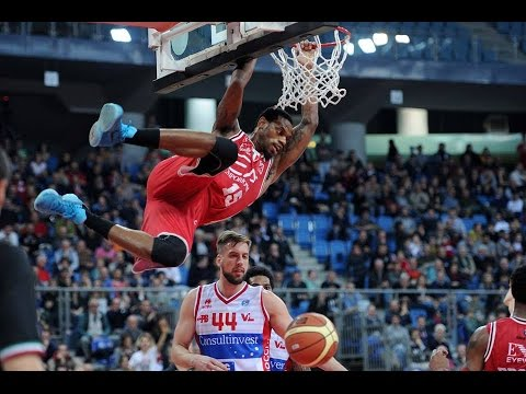Pesaro-Milano 20pts-10reb Highlights