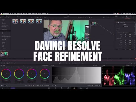 Davinci Resolve Studio - Face Refinement
