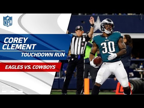 Video: Wentz's Clutch 3rd Down Conversions Leads to Clement's TD Run! | Eagles vs. Cowboys | NFL Wk 11