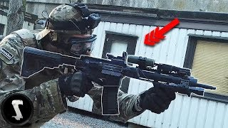 SWAT Officer Joins Airsoft Game and DESTROYS Everyone (they were not happy)