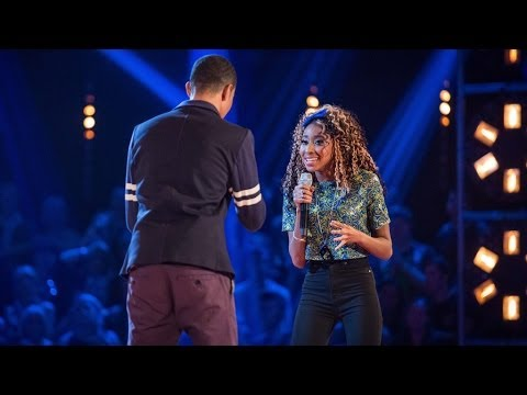 Battle - http://www.bbc.co.uk/thevoiceuk Singing 'Stop, Look, Listen (To Your Heart)' in their vocal battle.