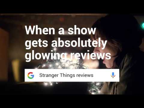 Google Search Know Stranger Things reviews