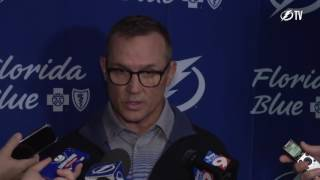 Tampa Bay Lightning general manager Steve Yzerman says he doesn't know whether everyone in the development camp will make the NHL but that he is excited by t...