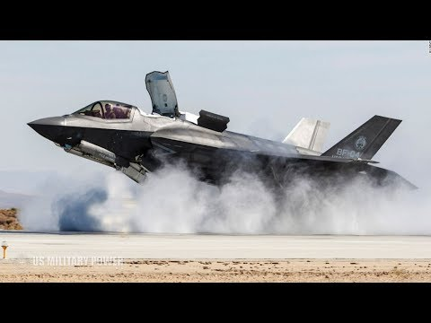 Incredible Video of F-35 Shows Its Insane Ability - Dropping Bom, Vertical Takeoff and Landing (видео)