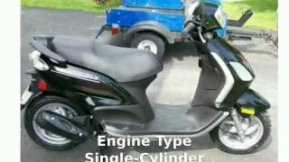 8. 2011 Piaggio Fly 50 - Walkaround and Features