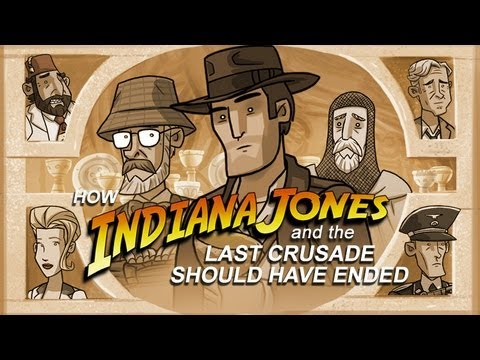 HISHEdotcom - You have chosen...wisely! See how Indiana Jones and The Last Crusade should have ended. Thank you for watching! Be sure to click on that 'Like' button and 'S...